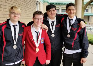 Award-winning Capital Region BOCES Career and Technical Education (CTE) SkillsUSA students.