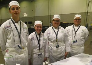 BOCES Career and Technical School culinary team are national ProStart victors.